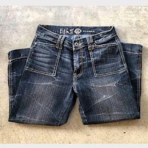 Ethyl Classic Capri Jeans Sz 2